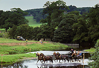 Carriage Driving Championships held in the grounds of Lowther Castle, Cumbria, United Kingdom