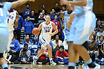 03 March 2013: Duke's Tricia Liston. The Duke University Blue Devils played the University of North Carolina Tar Heels at Cameron Indoor Stadium in Durham, North Carolina in a 2012-2013 NCAA Division I and Atlantic Coast Conference women's college basketball game. Duke won the game 65-58.