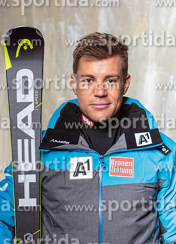 08.10.2016, Olympia Eisstadion, Innsbruck, AUT, OeSV Einkleidung Winterkollektion, Portraits 2016, im Bild Peter Meliessnig, Ski Alpin, Damen // during the Outfitting of the Ski Austria Winter Collection and official Portrait Photoshooting at the Olympia Eisstadion in Innsbruck, Austria on 2016/10/08. EXPA Pictures © 2016, PhotoCredit: EXPA/ JFK