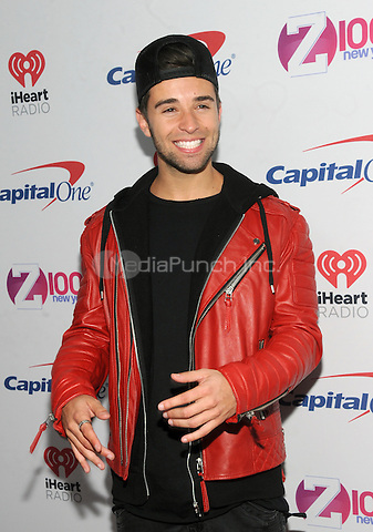 NEW YORK, NY - DECEMBER 9 : Jake Miller at the Z100 Jingle Ball 2016 at Madison Square Garden in New York City on December 9, 2016. Credit: John Palmer/MediaPunch