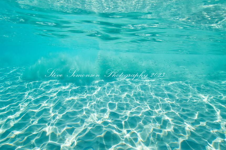 Clear blue Caribbean water<br /> Trunk Bay<br /> U.S. Virgin Islands