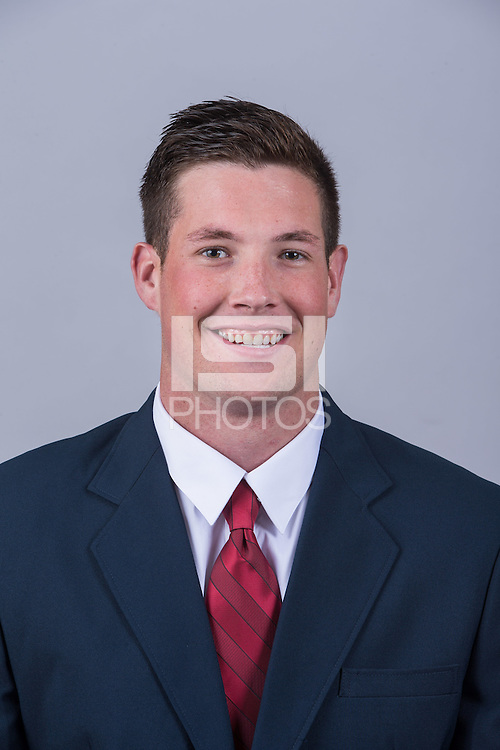 Stanford, California - July 9, 2015: Stanford Football Head shots.