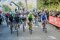 Alejandro Valverde (ESP/Movistar) is the king of the infamous Mur de Huy<br /> <br /> 81st La Fl&egrave;che Wallonne (1.UWT)<br /> One Day Race: Binche &rsaquo; Huy (200.5km)