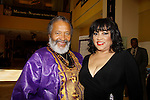 Count Stovel (AMC, ATWT and the Doctors) poses with comedien Jackee Harry at The National Black Theatre Festival with a week of plays, workshops and much more with an opening night gala of dinner, awards presentation followed by Black Stars of the Great White Way followed by a celebrity reception. It is an International Celebration and Reunion of Spirit. (Photo by Sue Coflin/Max Photos)