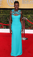 LOS ANGELES, CA - JANUARY 18: Lupita Nyong'o at the 20th Annual Screen Actors Guild Awards held at The Shrine Auditorium on January 18, 2014 in Los Angeles, California. (Photo by Xavier Collin/Celebrity Monitor)