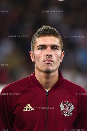 Roman Neustadter (Russia) ; <br /> June 15, 2016 - Football : Uefa Euro France 2016, Group B, Russia 1-2 Slovakia at Stade Pierre Mauroy, Lille Metropole, France. (Photo by aicfoto/AFLO)