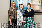 Leanne Ryan, Kit Ryan and patricia hawkin enjoying the  Kilmoyley GAA Social in Ballyroe Heights Hotel on Saturday night