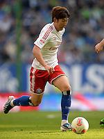 FUSSBALL   1. BUNDESLIGA   SAISON 2012/2013    32. SPIELTAG Hamburger SV - VfL Wolfsburg          05.05.2013 Heung Min Son (Hamburger SV) am Ball