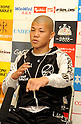 Koki Kameda, DECEMBER 7, 2011 - Boxing : Koki Kameda is interviewed by the press after his bother Daiki's WBA super flyweight title bout at Osaka Prefectural Gymnasium in Osaka, Osaka, Japan. (Photo by Mikio Nakai/AFLO)