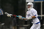01 March 2015: Duke's Tanner Scott. The Duke University Blue Devils hosted the Providence College Friars on the West Turf Field at the Duke Athletic Field Complex in Durham, North Carolina in a 2015 NCAA Division I Men's Lacrosse match. Duke won the game 20-8.