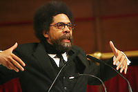Cornell West at Abbysynia Baptist Church in Harlem, NYC on April 1, 2009