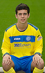 St Johnstone FC...Season 2011-12.Aiden Hendry.Picture by Graeme Hart..Copyright Perthshire Picture Agency.Tel: 01738 623350  Mobile: 07990 594431