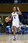22 November 2016: Duke's Lexie Brown. The Duke University Blue Devils hosted the Old Dominion University Monarchs at Cameron Indoor Stadium in Durham, North Carolina in a 2016-17 NCAA Division I Women's Basketball game. Duke won the game 92-64.