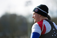 Chris Cook of Bath Rugby looks on. Bath Rugby Captain's Run on February 19, 2016 at the Recreation Ground in Bath, England. Photo by: Patrick Khachfe / Onside Images
