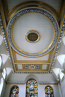 Sir Christopher Wren: St. Vedast, London. Ceiling detail.