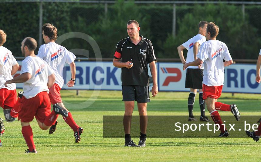 HO Oedelem : coach Jurgen Peuteman.foto VDB / BART VANDENBROUCKE