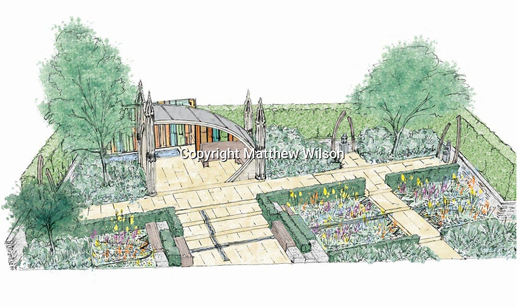 Welcome to Yorkshire - God's Own Country – A Garden for Yorkshire by designer Matthew Wilson