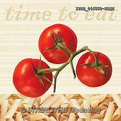 Isabella, MODERN, MODERNO, paintings+++++,ITKE046550-SLWK,#n#<br /> tomatoes,pasta