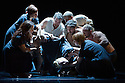 London, UK. 18.02.2014. Circa and the Debussy String Quartet present OPUS at the Barbican. Picture shows: Kimberley Rossi (centre - being lifted). Photograph © Jane Hobson.