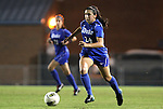 13 October 2011: Duke's Mollie Pathman. The University of North Carolina Tar Heels defeated the Duke University Blue Devils 1-0 at Fetzer Field in Chapel Hill, North Carolina in an NCAA Division I Women's Soccer game.
