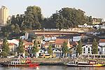 Vila Nova de Gaia with the Douro River, Porto - Oporto, Douro Litoral, Portugal