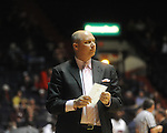 Auburn head coach Jeff Lebo vs. Ole Miss in Oxford, Miss. on Wednesday, February 24, 2010. Ole Miss won 85-75, giving Kennedy his 100th win as a head coach.