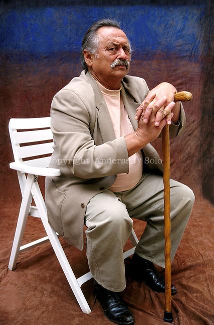Jim Harrison, American writer in 2002.