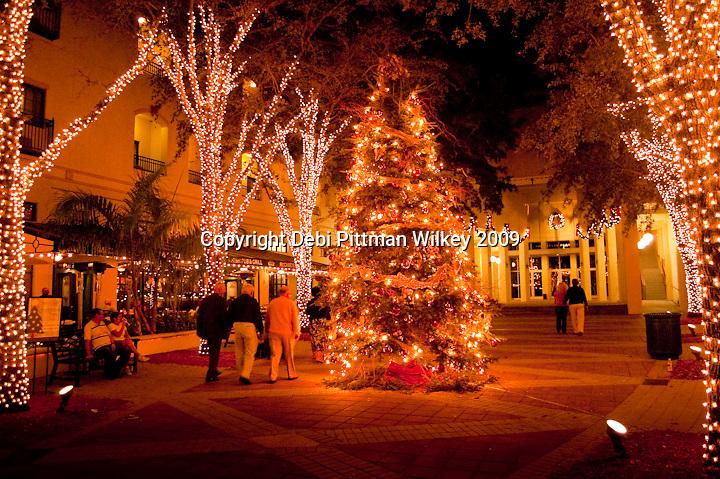 Avenue of Lights Naples Florida