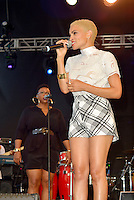 LOS ANGELES, CA -JULY 23: Singer Goapele and Toni Scruggs perform at the 1st Annual Los Angeles Soul Music Festival at the Autry in Griffith Park on July 23, 2016 in Los  Angeles, California. Credit: Koi Sojer/Snap'N U Photos/MediaPunch