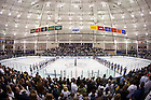 Mar. 12, 2011; Notre Dame Hockey at the Joyce Center rink...Photo by Matt Cashore