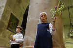 Easter, Palm Sunday at the Church of the Holy Sepulchre