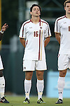 23 September 2016: Boston College's Raphael Salama (ESP). The University of North Carolina Tar Heels hosted the Boston College Eagles in Chapel Hill, North Carolina in a 2016 NCAA Division I Men's Soccer match. UNC won the game 5-0.