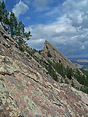 The Flat Iron's West of Boulder, CO.