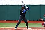 21 February 2015: Duke's Jalen Phillips. The Duke University Blue Devils hosted the University of Hartford Hawks in an NCAA Division I Men's baseball game at Jack Coombs Field in Durham, North Carolina. Duke won the game 5-1.