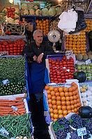 """Europe/Turquie/Istanbul : Etal sur le bazar aux épices """"Misir Carsisi"""""""