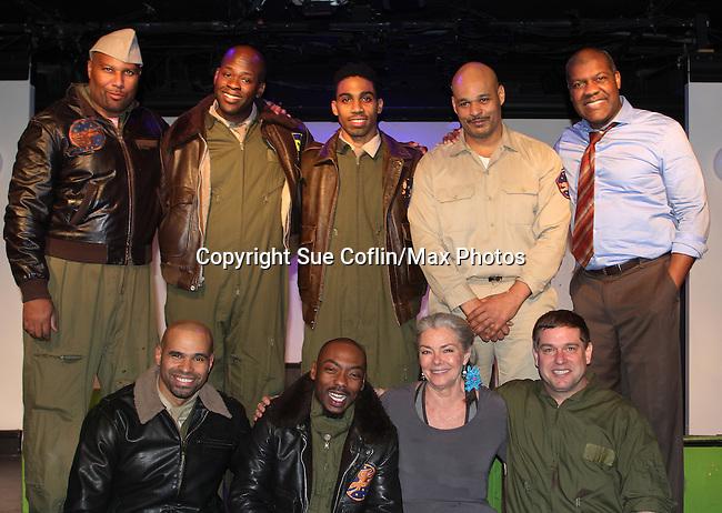 02-09-17 Denise Pence & hubby Steve see Black Angels Over Tuskegee
