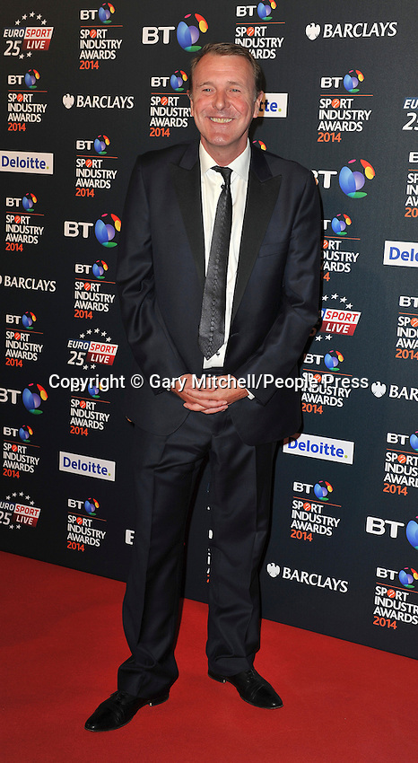 Phil Tufnell attends the BT Sport Industry Awards at Battersea Evolution on May 8, 2014 in London, England
