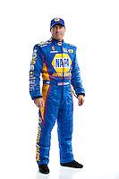 Feb 8, 2017; Pomona, CA, USA; NHRA funny car driver Ron Capps poses for a portrait during media day at Auto Club Raceway at Pomona. Mandatory Credit: Mark J. Rebilas-USA TODAY Sports