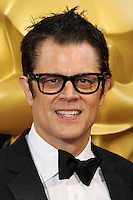 HOLLYWOOD, LOS ANGELES, CA, USA - MARCH 02: Johnny Knoxville at the 86th Annual Academy Awards held at Dolby Theatre on March 2, 2014 in Hollywood, Los Angeles, California, United States. (Photo by Xavier Collin/Celebrity Monitor)