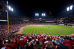 St. Louis Cardinals vs. Texas Rangers, Game 6 of the World Series 2011.  Cardinals won 10-9.