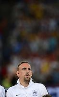 FUSSBALL  EUROPAMEISTERSCHAFT 2012   VIERTELFINALE Spanien - Frankreich      23.06.2012 Franck Ribery (Frankreich)