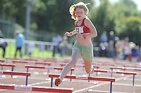 ATLETIEK: HEERENVEEN: 19-09-2015, Athletics Champs AV Heerenveen, Roos Brands (#72 | 11 jaar), ©foto Martin de Jong