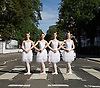 The Australian Ballet Abbey Road Zebra Crossing 15th July 2016