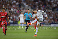 Cardiff City Stadium, Cardiff, South Wales - Tuesday 12th Aug 2014 - UEFA Super Cup Final - Real Madrid v Sevilla - <br /> <br /> Real Madrid&rsquo;s Christiano Ronaldo in action<br /> <br /> <br /> <br /> <br /> Photo by Jeff Thomas/Jeff Thomas Photography