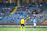 Alashkert FC v St Johnstone...02.07.15   Republican Stadium, Yerevan, Armenia....UEFA Europa League Qualifier.<br /> Around a 100 saints fans made the trip to Armenia<br /> Picture by Graeme Hart.<br /> Copyright Perthshire Picture Agency<br /> Tel: 01738 623350  Mobile: 07990 594431