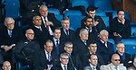 Walter Smith looking far from happy