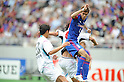 (R-L) Ariajasuru Hasegawa (FC Tokyo), and Yeo Sung-Hae (Sagan),.MAY 20, 2012 - Football / Soccer :.2012 J.League Division 1 match between F.C.Tokyo 3-2 Sagan Tosu at Ajinomoto Stadium in Tokyo, Japan. (Photo by Hitoshi Mochizuki/AFLO)