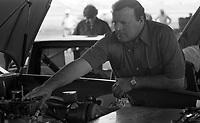 Racing legend A.J. Foyt Jr., Winston 500 at Alabama International Motor Speedway in Talladega, AL on May 1, 1983.  (Photo by Brian Cleary/www.bcpix.com)
