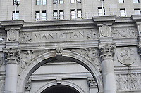 Manhattan Municipal Building, William M. Kendall, of  McKim, Mead and White, designed the building, Manhattan, New York City, New York, USA