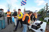 WANDELSPORT: LEEUWARDEN-LEEUWARDEN: mei-2016, Elfstedenwandeltocht 209 km, ©foto Martin de Jong